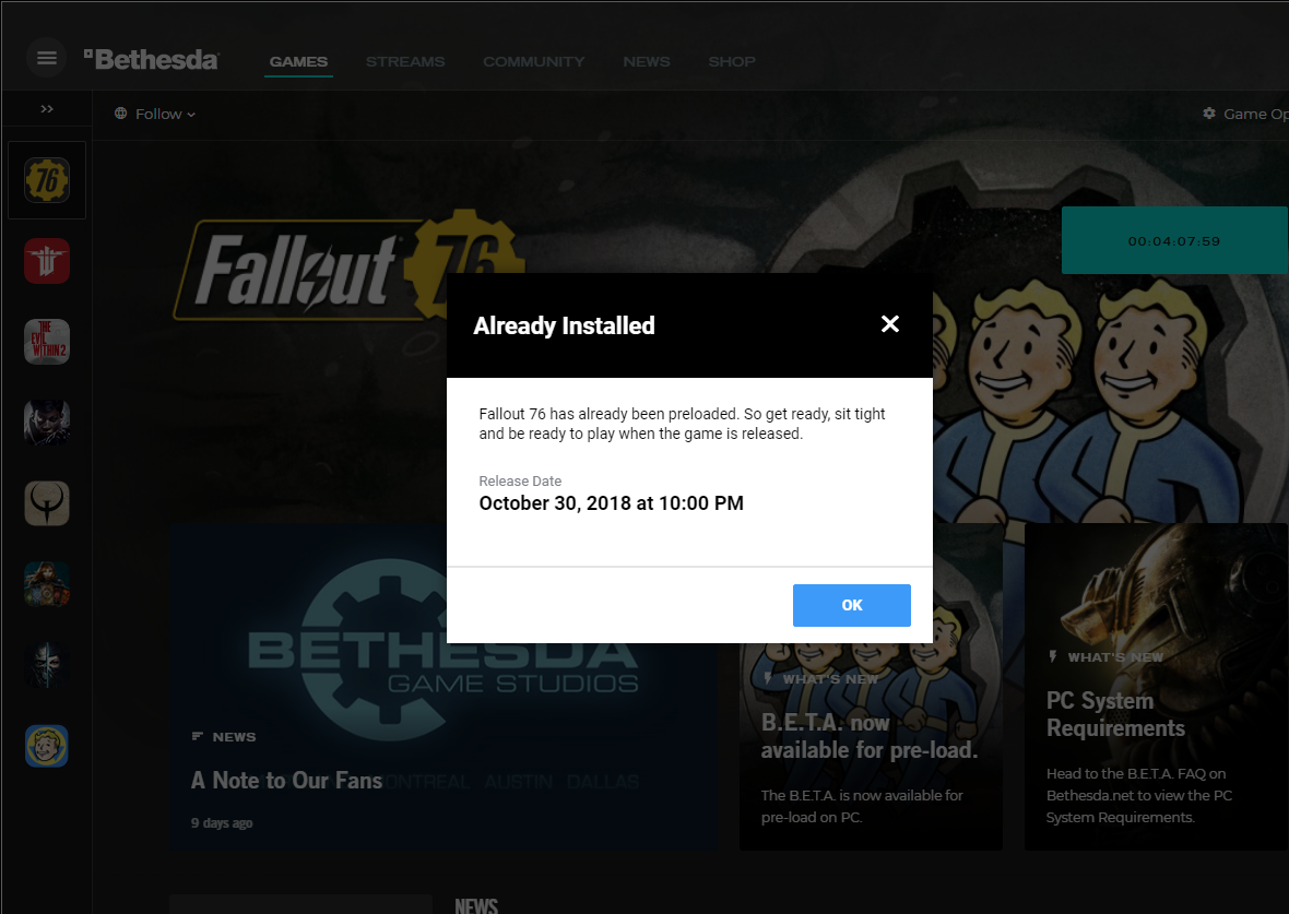 fallout 76 on pc
