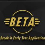 Fallout 76 Beta Launch Break It Early Test Application