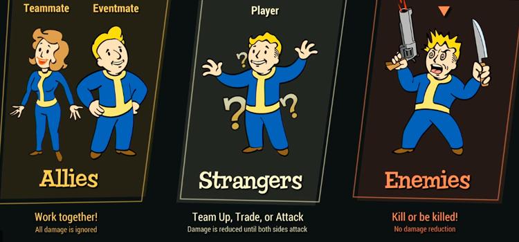 Fallout 76 Beta Revelations - PvP