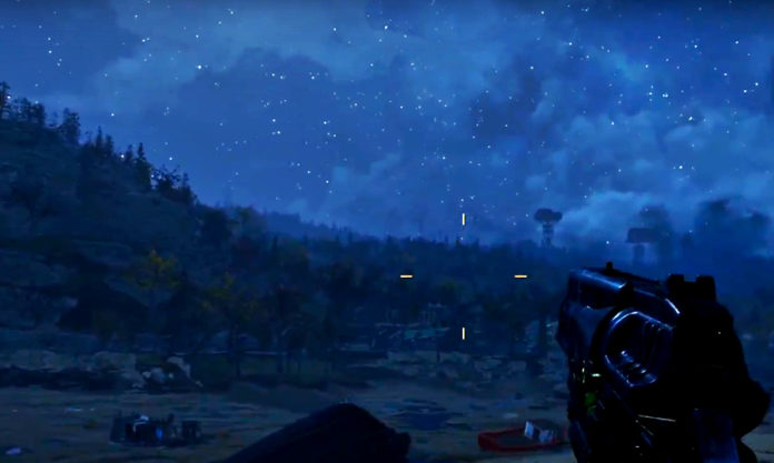 Fallout 76 - Starry Blue Night