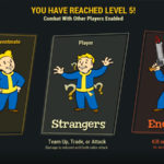 Fallout 76 – PvP – Level 5 Allies, Strangers & Enemies PvP Rules